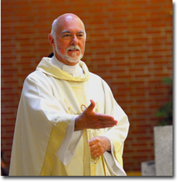 Father Perry D. Leiker, pastor.