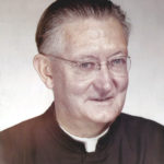 Father Dennis E. Murphy, in this picture from 1971, served as pastor of St. Bernard Church from 1964 to 1973.