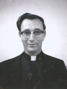 Monsignor Patrick McNulty, in this picture from 1971, served as pastor of St. Bernard Church from 1973 to 1992.