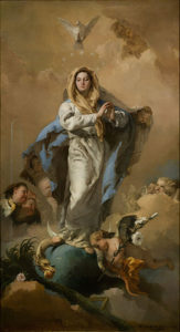 This week, we celebrate the Solemnity of the Immaculate Conception of the Blessed Virgin Mary.