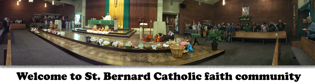 :: St. Bernard Catholic Church, Los Angeles :: Logo
